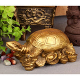 Figurine Tortue - Chinoise (Cuivre)