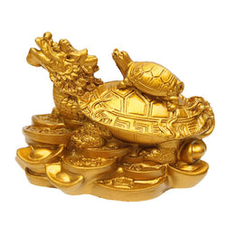 Figurine Dragon Tortue - Feng Shui