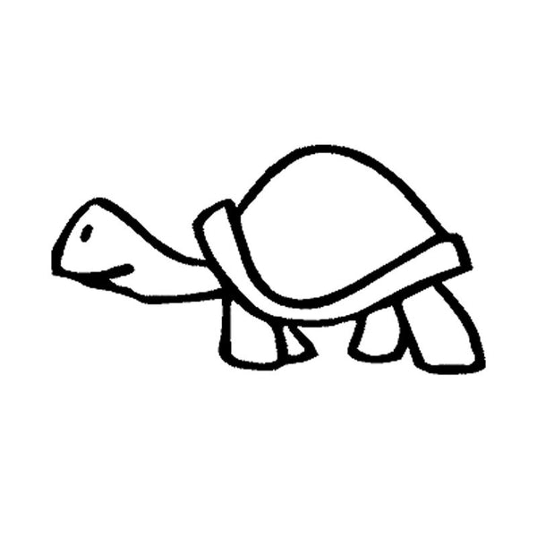 Sticker Auto Tortue - Slow