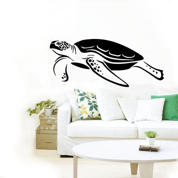 Sticker Tortue Mural - Paisible