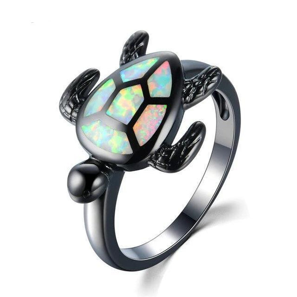 Bague Tortue Multicolore | Tortue Paradise