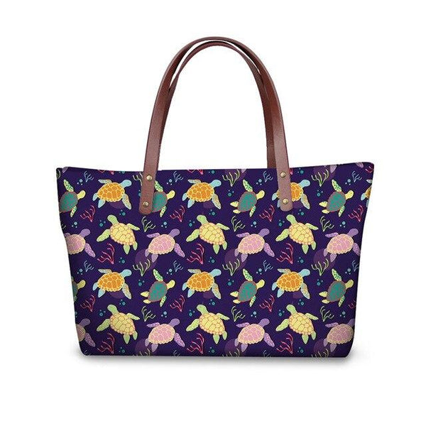 Sac à main Tortue - Multicolore