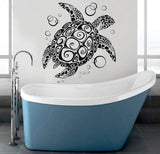 Sticker Tortue Mural - Spirale
