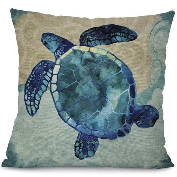 Housse Coussin Tortue - Old Style