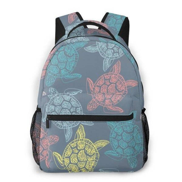 Sac a Dos Tortue Vermillon | Tortue Paradise
