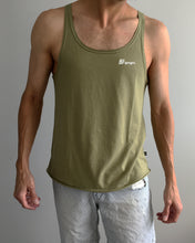 Load image into Gallery viewer, Dante - Green Olive - Men's Singlet