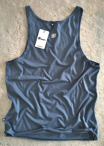 Dante Unique Tank Top Steel Blue