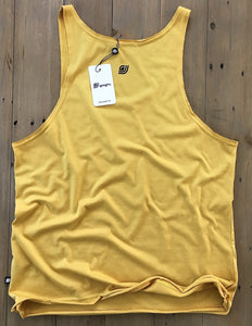 Dante Unique Tank Top Yellow Mustard