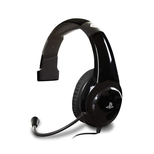 4GAMERS PR04-CHAT GAMING HEADSET FOR PS4 - BLACK