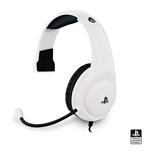 4GAMERS PRO4-CHAT GAMING HEADSET FOR PS4 - WHITE
