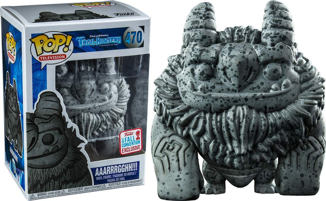 FUNKO POP! TELEVISION: TROLLHUNTERS AAARRRGGHH!!! 2017 NYC CONVENTION EXCLUSIVE
