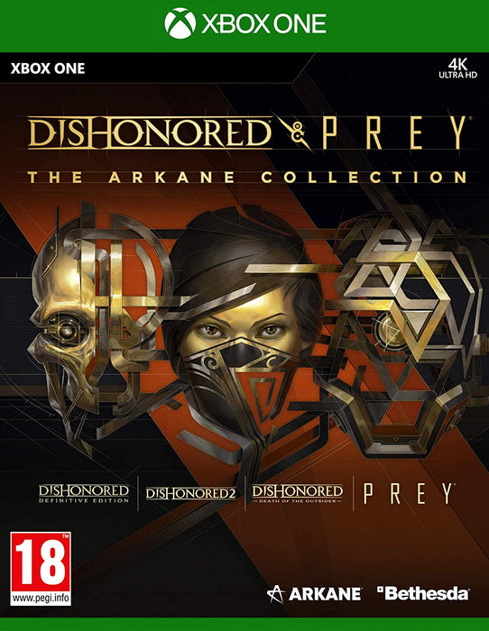 DISHONORED & PREY: THE ARKANE COLLECTION - XBOX ONE GAME