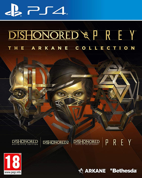 DISHONORED & PREY: THE ARKANE COLLECTION - PS4 GAME