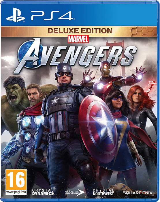 MARVEL AVENGERS DELUXE EDITION - PS4 GAME