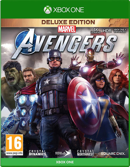 MARVEL AVENGERS DELUXE EDITION - XBOX ONE GAME