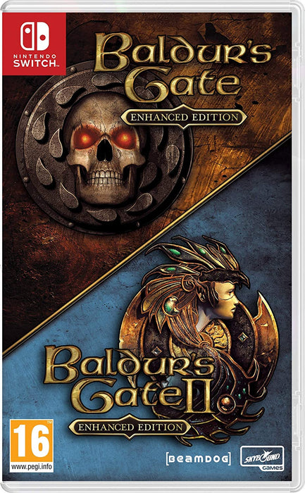 BALDURS GATE 1 & 2 ENHANCED EDITION - NINTENDO SWITCH GAME