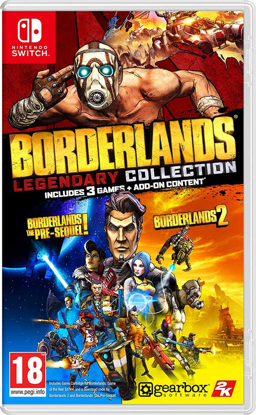 BORDERLANDS LEGENDARY COLLECTION - NINTENDO SWITCH GAME