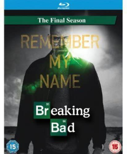 BREAKING BAD: THE FINAL SEASON - BLU-RAY