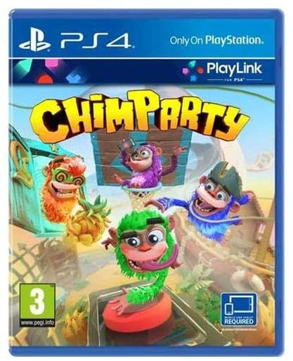 CHIMPARTY -  PLAYLINK PS4 GAME (REQUIRES SMARTPHONE OR TABLET)