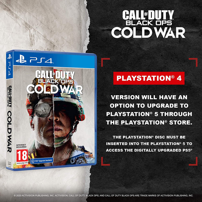CALL OF DUTY: BLACK OPS COLD WAR - PS4 GAME