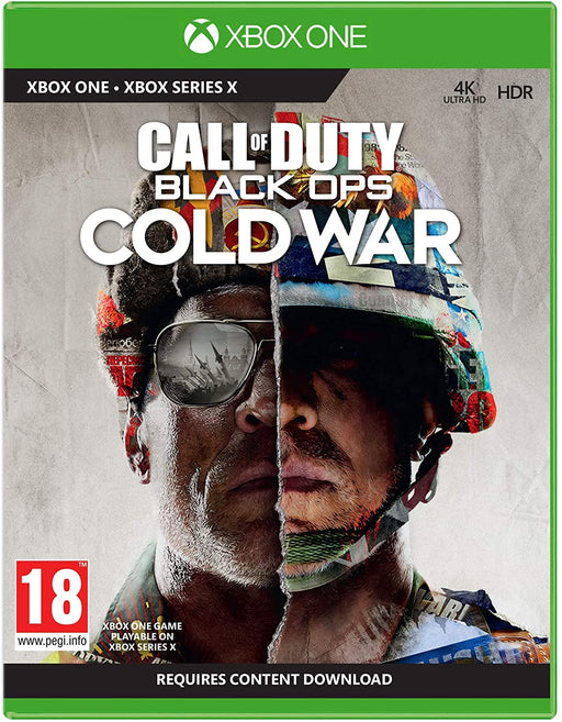 CALL OF DUTY: BLACK OPS COLD WAR - XBOX ONE & SERIES X GAME