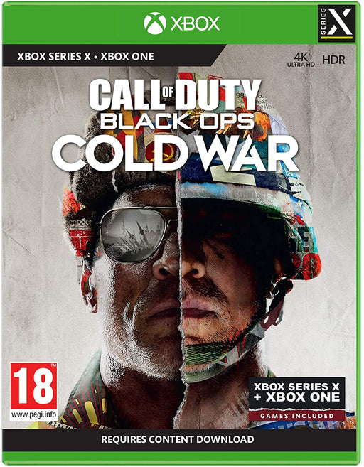 CALL OF DUTY: BLACK OPS COLD WAR - SERIES X & XBOX ONE GAME