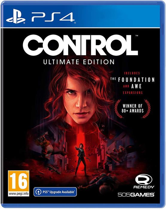 CONTROL ULTIMATE EDITION - PS4 GAME