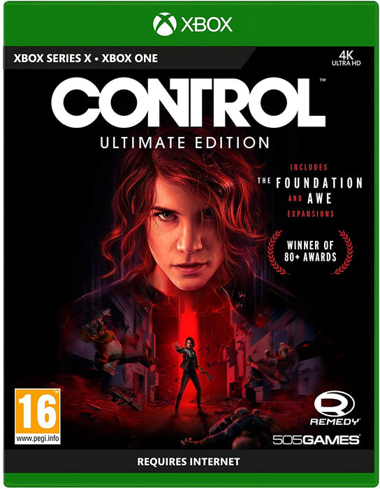 CONTROL ULTIMATE EDITION - XBOX ONE GAME