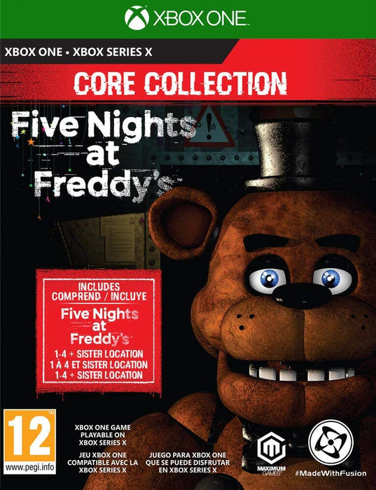 FIVE NIGHTS AT FREDDY'S CORE COLLECTION - XBOX ONE & SERIES X GAME