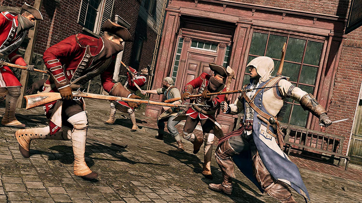 ASSASSINS CREED III REMASTERED - PS4 GAME