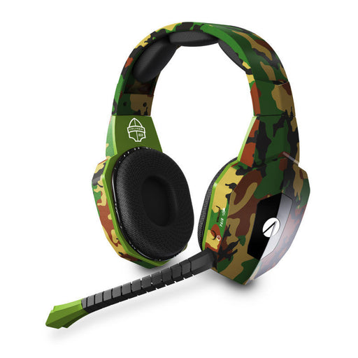 STEALTH CRUISER MULTI-PLATFORM WIRELESS GAMING HEADSET - GREEN CAMO