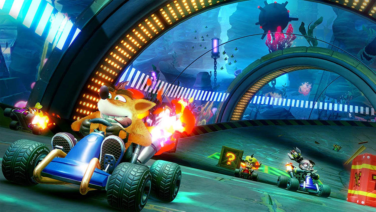CRASH TEAM RACING NITRO FUELED - PS4 GAME