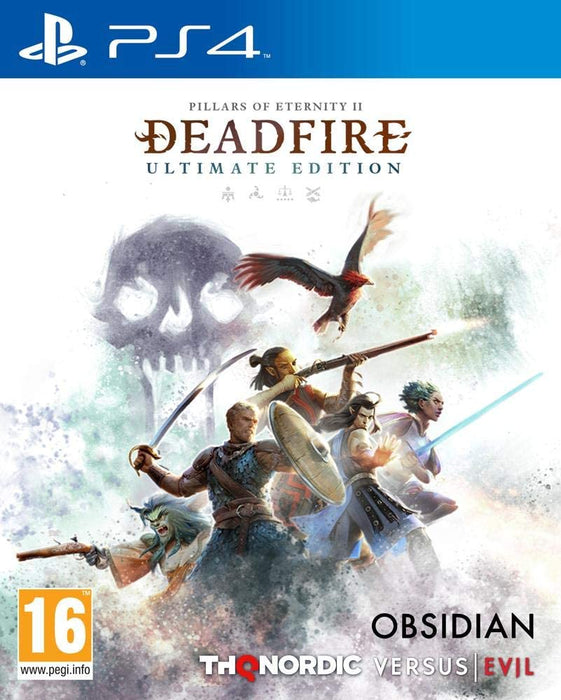 PILLARS OF ETERNITY II DEADFIRE ULTIMATE EDITION - PS4 GAME