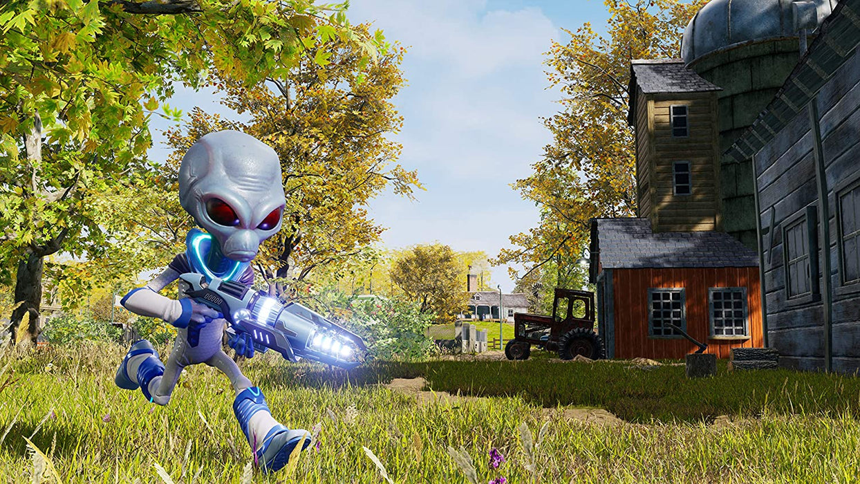 DESTROY ALL HUMANS - PS4 GAME