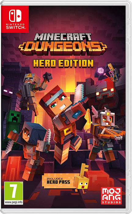 MINECRAFT DUNGEONS HERO EDITION - NINTENDO SWITCH GAME
