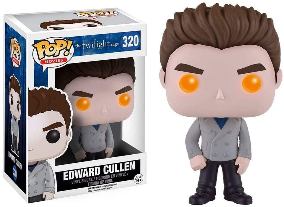 FUNKO POP! MOVIES: THE TWILIGHT SAGA EDWARD CULLEN (VAMPIRE) #320