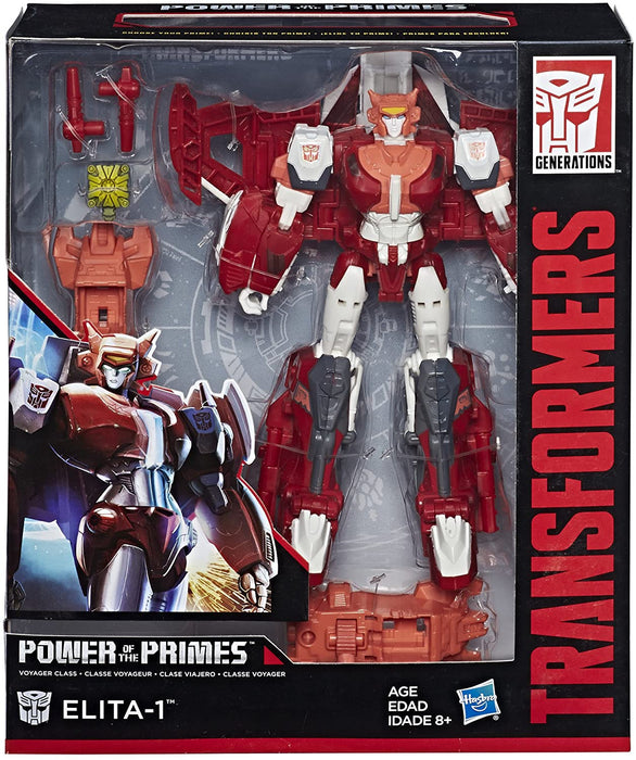 TRANSFORMERS POWER OF THE PRIMES - ELITA-1 VOYAGER CLASS FIGURE