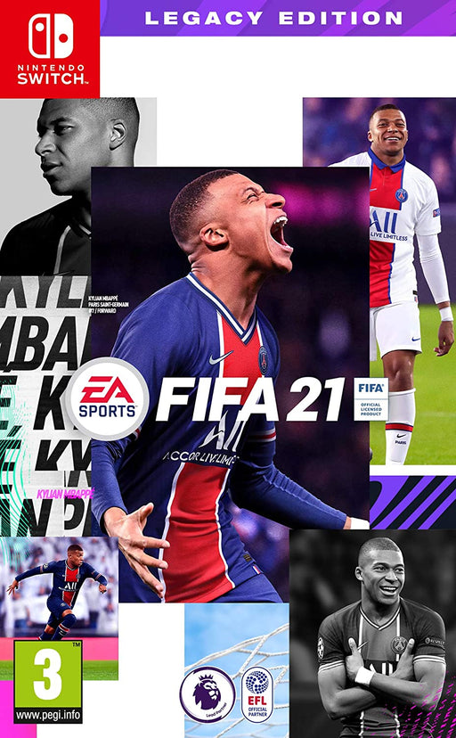 EA SPORTS FIFA 21 LEGACY EDITION - NINTENDO SWITCH GAME