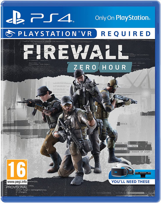 FIREWALL: ZERO HOUR PSVR - PS4 GAME