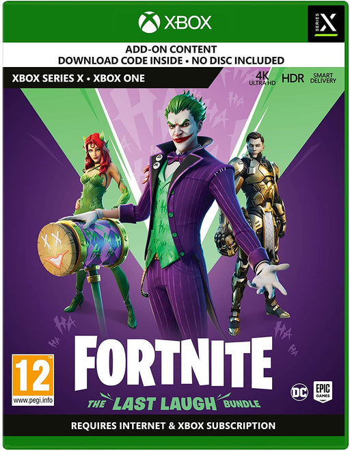FORTNITE: THE LAST LAUGH BUNDLE - XBOX ONE & SERIES X S