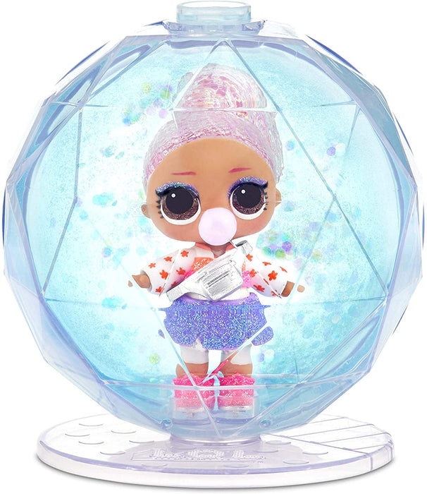 LOL L.O.L. SURPRISE WINTER DISCO GLITTER GLOBE WITH 8 SURPRISES (PACK OF 4)