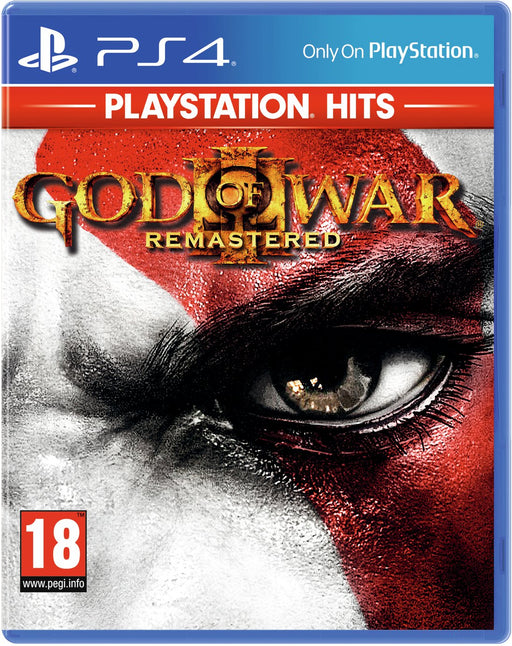 GOD OF WAR III REMASTERED - PLAYSTATION HITS - PS4 GAME