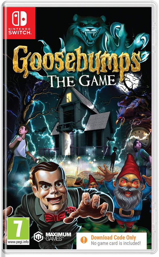 GOOSEBUMPS THE GAME (CIAB) - NINTENDO SWITCH GAME