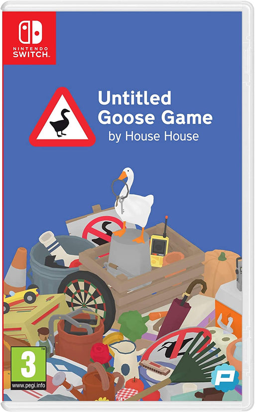 UNTITLED GOOSE GAME BY HOUSE HOUSE - NINTENDO SWITCH GAME