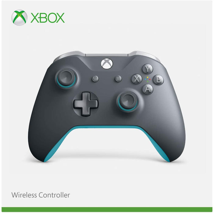 MICROSOFT XBOX ONE WIRELESS CONTROLLER - GREY & BLUE