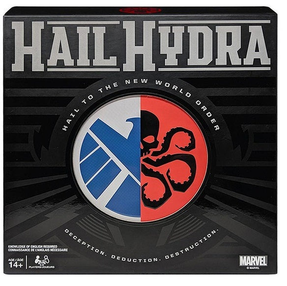 MARVEL HAIL HYDRA: WELCOME TO THE NEW WORLD GAME