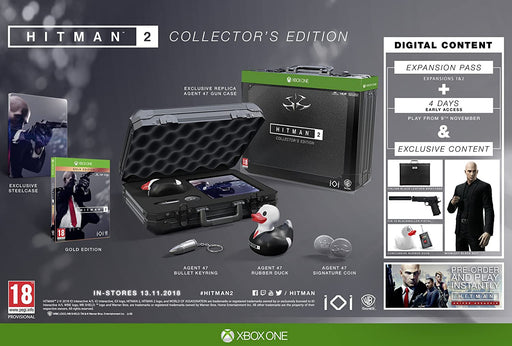 HITMAN 2 COLLECTORS EDITION - XBOX ONE GAME