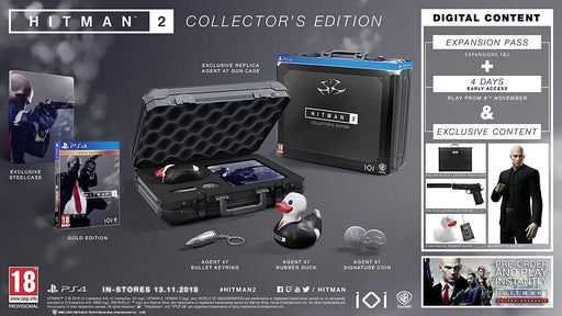 HITMAN 2 COLLECTORS EDITION - PS4 GAME