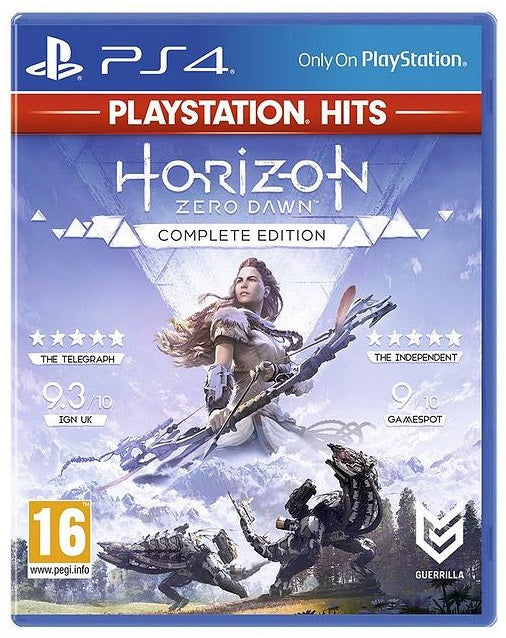HORIZON ZERO DAWN COMPLETE EDITION - PLAYSTATION HITS - PS4 GAME