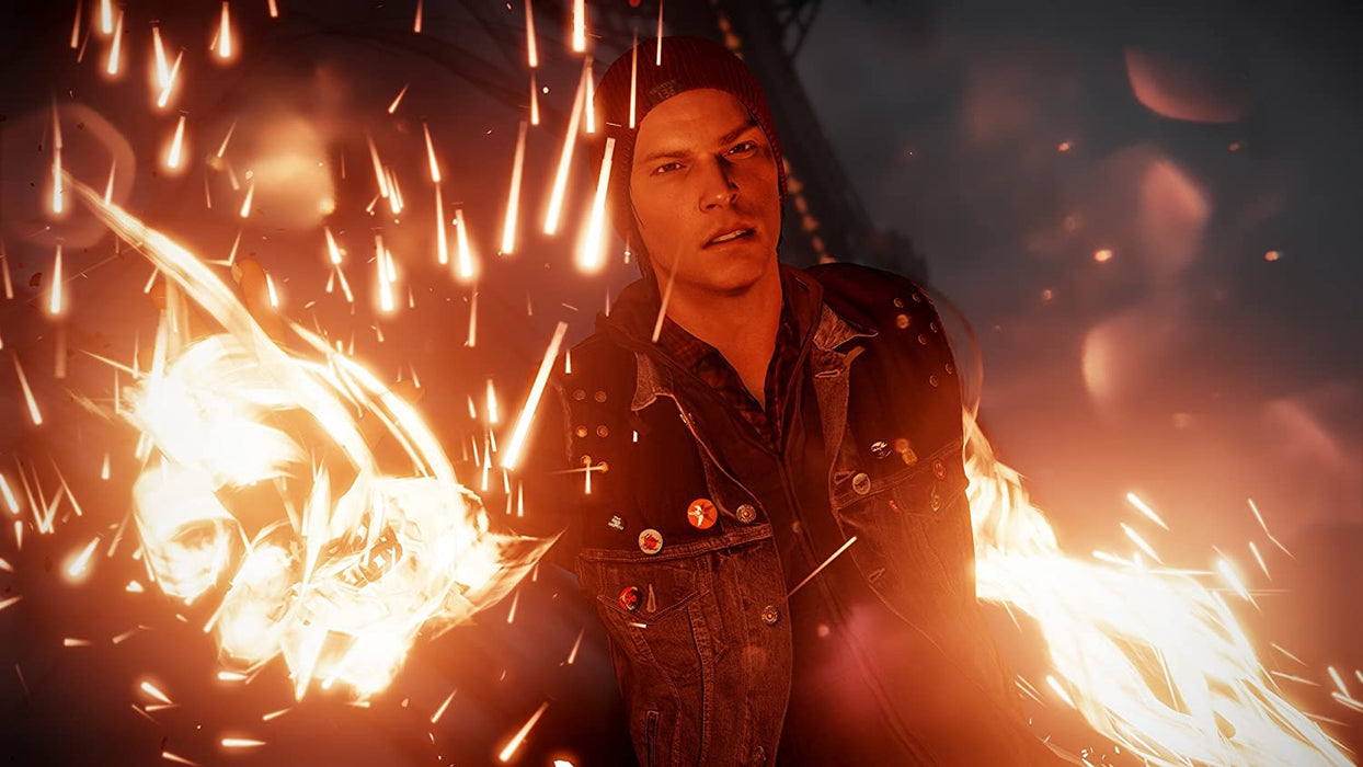 INFAMOUS: SECOND SON - PLAYSTATION HITS - PS4 GAME